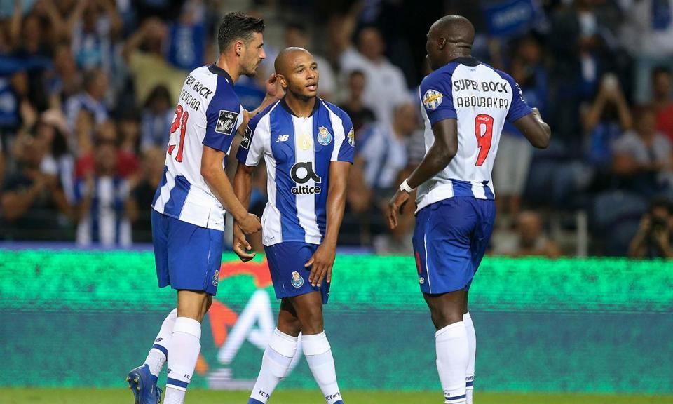 FC Porto-Desp. Chaves, 5-0 (resultado final)