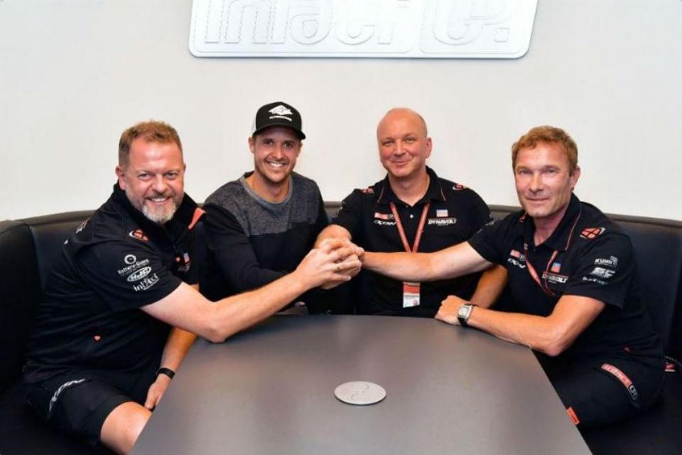 Thomas Luthi vai regressar ao Moto2 em 2019
