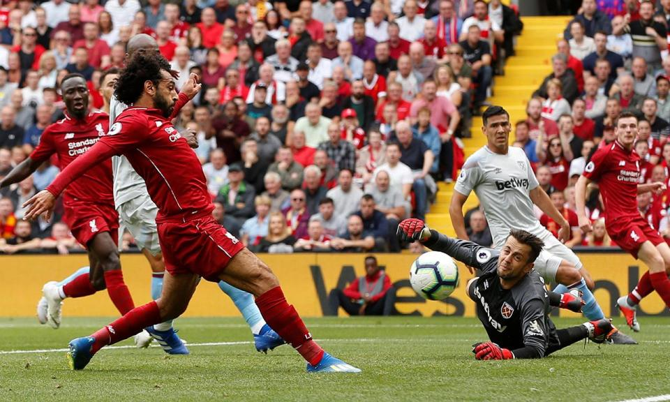 Inglaterra: Liverpool entra a golear na Premier League