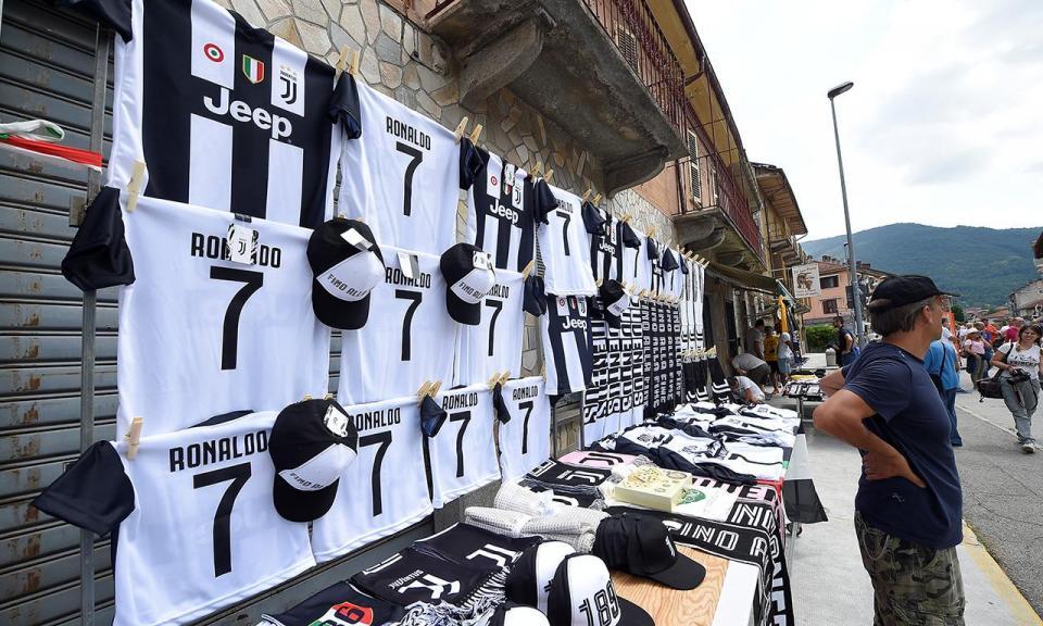 Juventus: venda de camisolas em dois meses supera toda a época passada