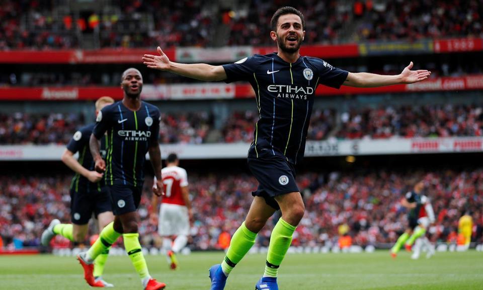 VÍDEO: Bernardo Silva marca e Manchester City vence Arsenal