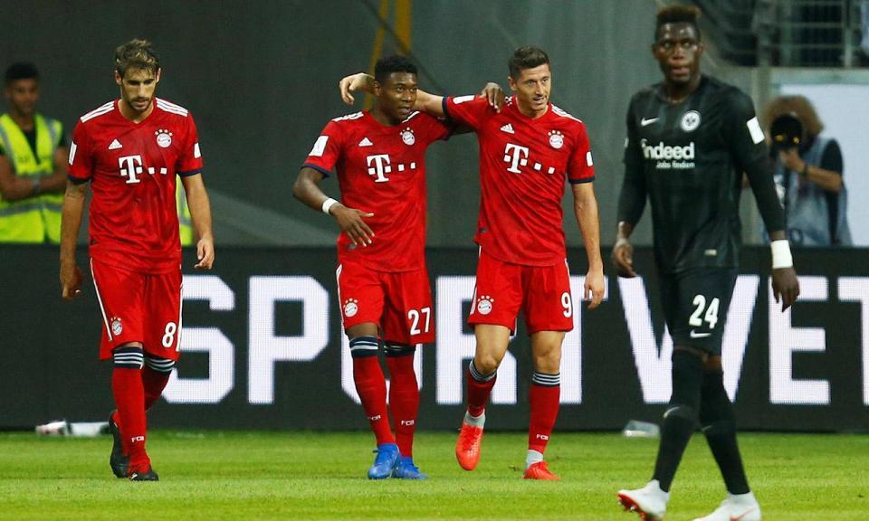Alemanha: Supertaça não teve portugueses e deu goleada do Bayern