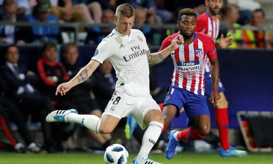 À margem do Real Madrid, Kroos revela boletim clínico