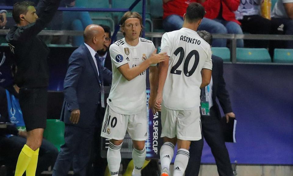 Modric e a derrota: «O ambiente no balneário não foi o melhor»
