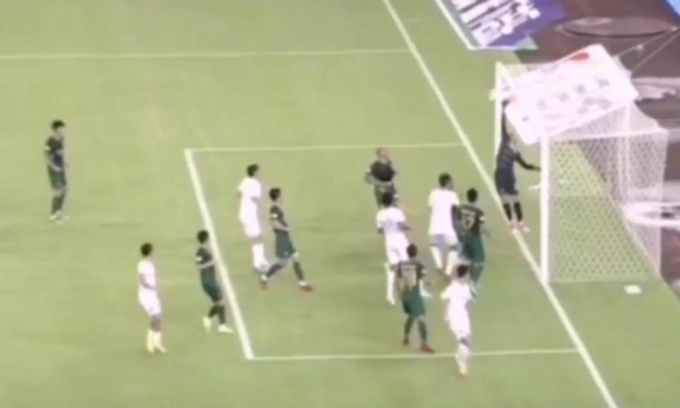 VÍDEO: ex-V. Guimarães evitou derrota após golaço de canto direto