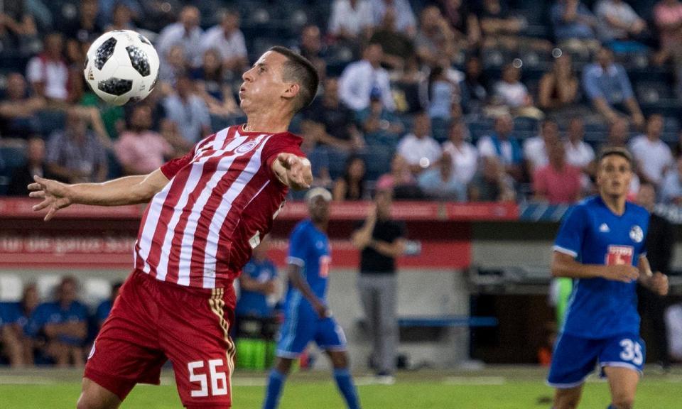 Podence marca na segunda vitória de Pedro Martins e do Olympiakos na liga grega