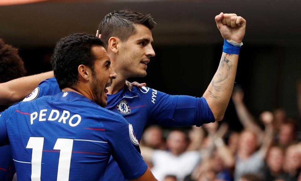 Inglaterra: Chelsea vence Arsenal com três golos espanhóis