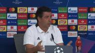Rui Vitória: «Temos de ter a capacidade de impor o nosso jogo»