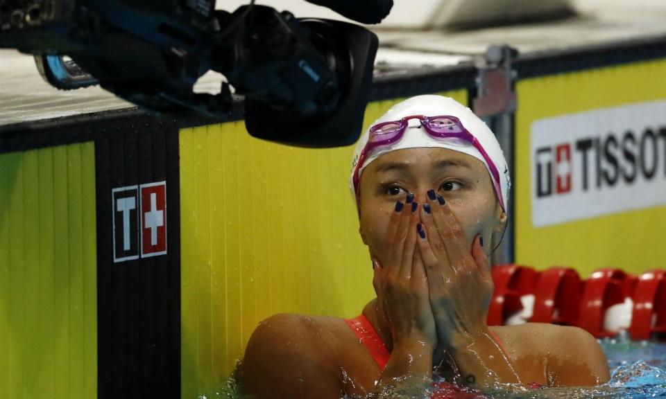 Natação: Liu Xiang bate recorde mundial dos 50 metros costas