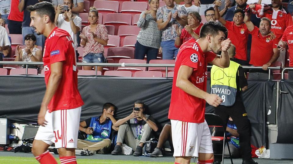 LC: PAOK-Benfica, 1-4 (resultado final)