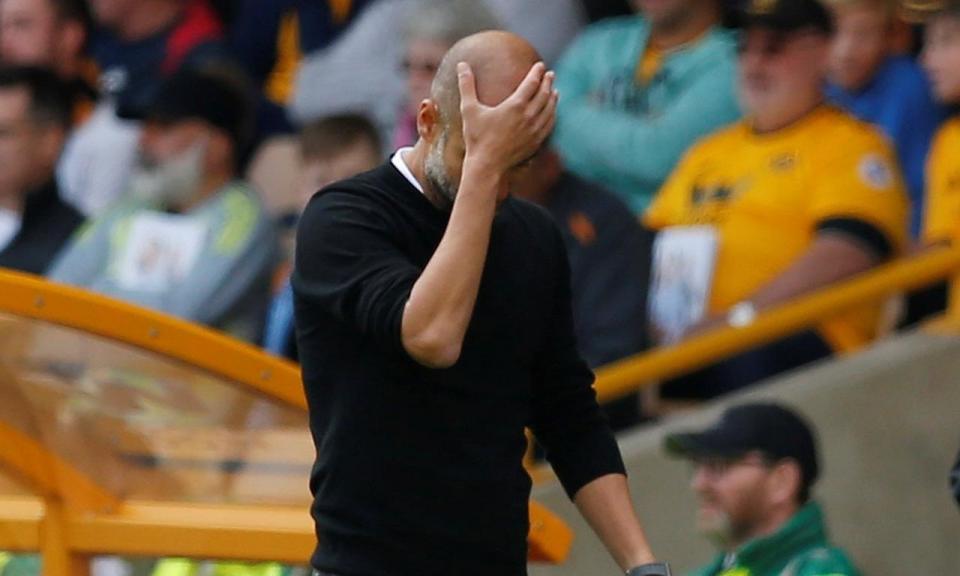 Guardiola e o penálti de Mahrez: «Peço desculpa ao Gabriel Jesus»
