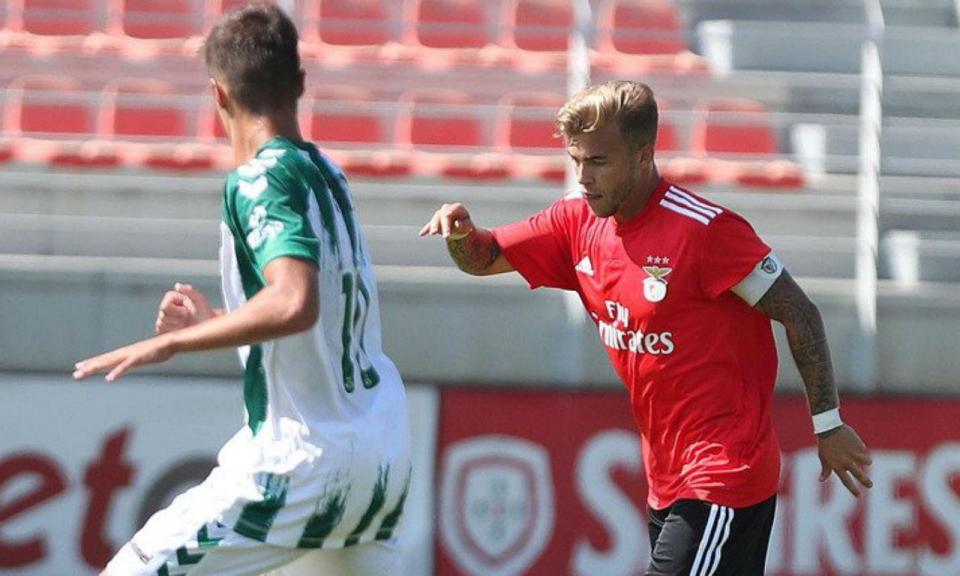 Liga Revelação: Benfica empata e divide liderança com o Desp. Aves
