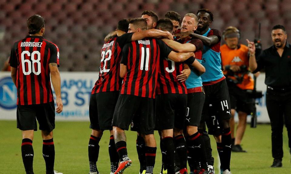 Itália: Milan vence Roma com golo aos 90+5 minutos