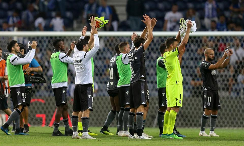 V. Guimarães empata a uma bola em particular com o Famalicão