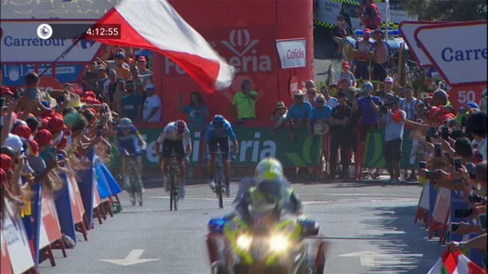Vuelta: no dia após o descanso, Viviani é o mais forte