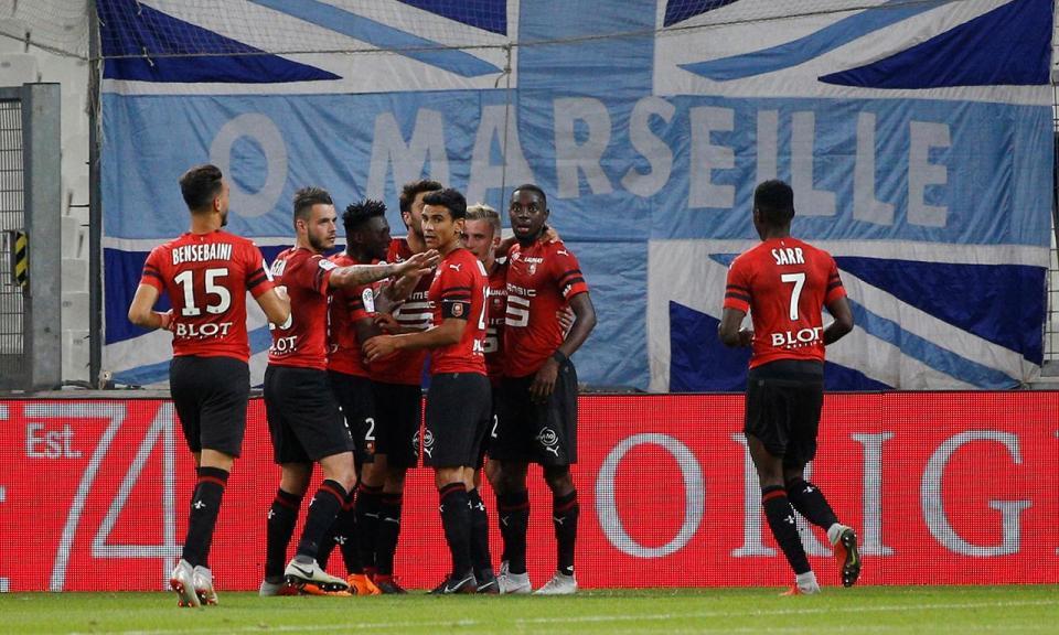Rennes afunda ainda mais o Bordéus, agora penúltimo da tabela