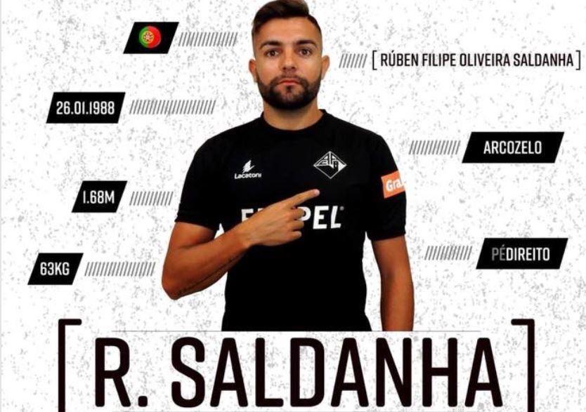 OFICIAL: Rúben Saldanha é reforço da Académica