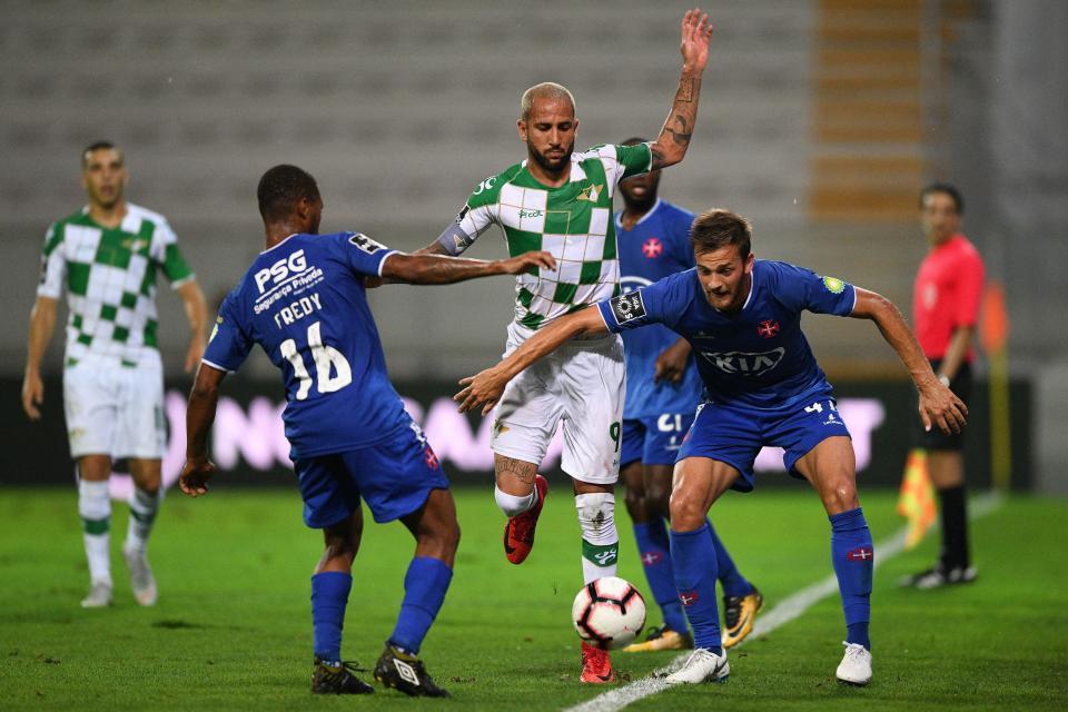 Moreirense-Belenenses, 1-1 (resultado final)