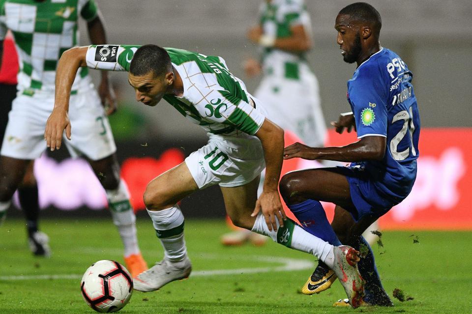 Moreirense-Belenenses, 1-1 (destaques)