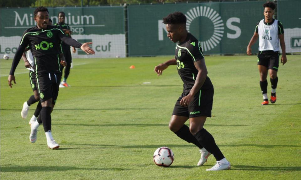 Sporting: Wendel de regresso aos treinos, quatro ainda de baixa