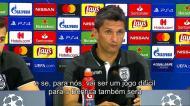 Lucescu: «A pressão está do lado do Benfica»