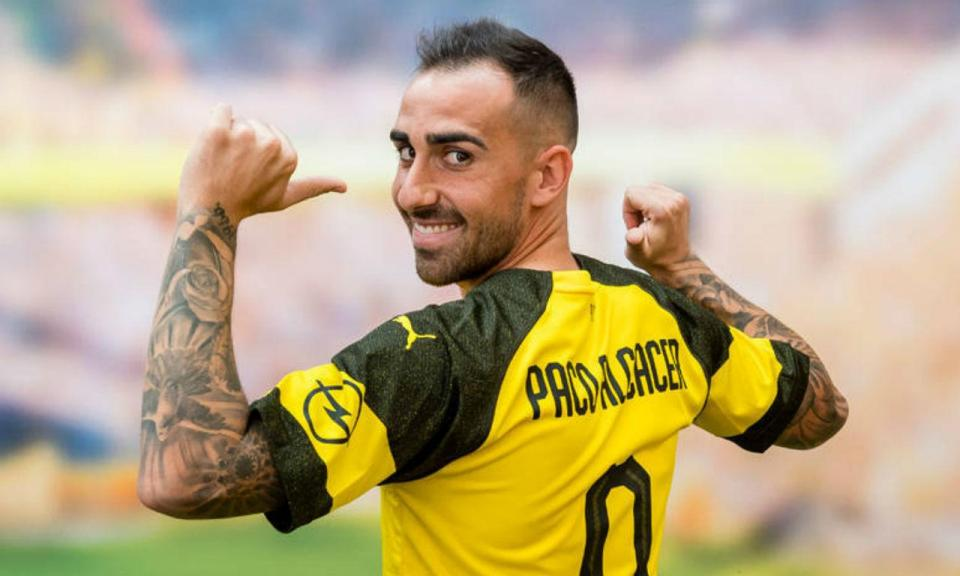 OFICIAL: Dortmund anuncia Paco Alcácer de forma original