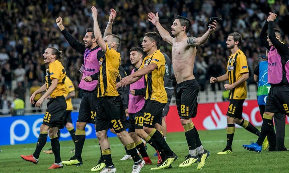 Atenção Benfica: AEK vence em casa do Asteras e dorme na liderança
