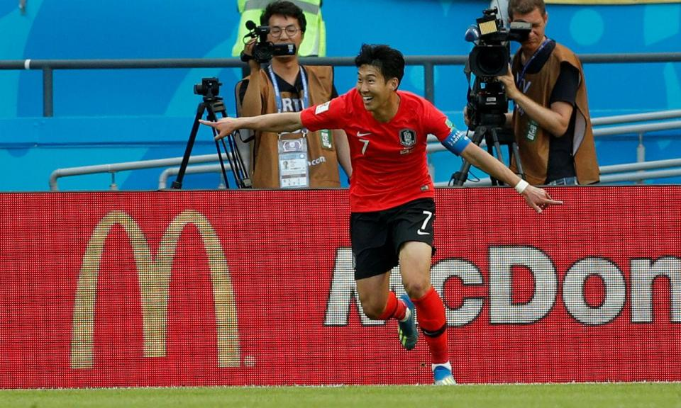 Coreia do Sul vence Jogos Asiáticos e Son livra-se do serviço militar