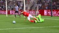 PAOK-Benfica: Paschalakis abre caminho ao 2.º das águias (imagens TVI/Eleven Sports)