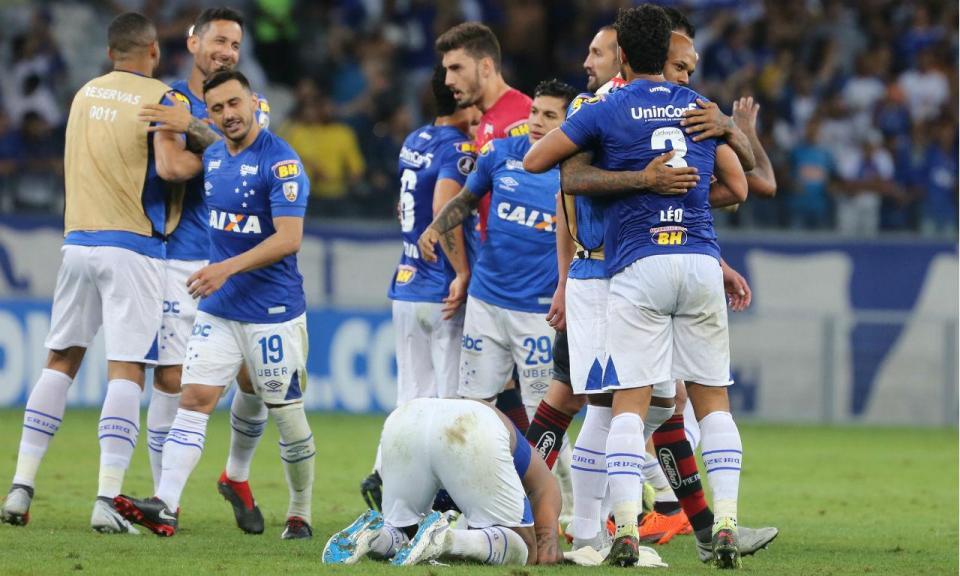 Cruzeiro ganha vantagem na final da Copa do Brasil