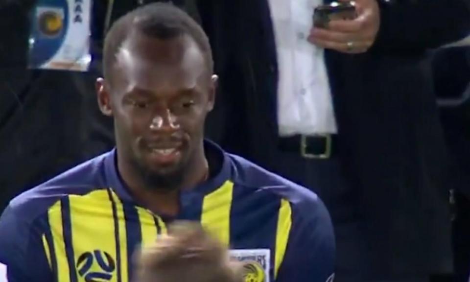 VÍDEO: Bolt estreou-se nos Central Coast Mariners