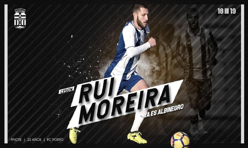 OFICIAL: FC Porto empresta Rui Moreira