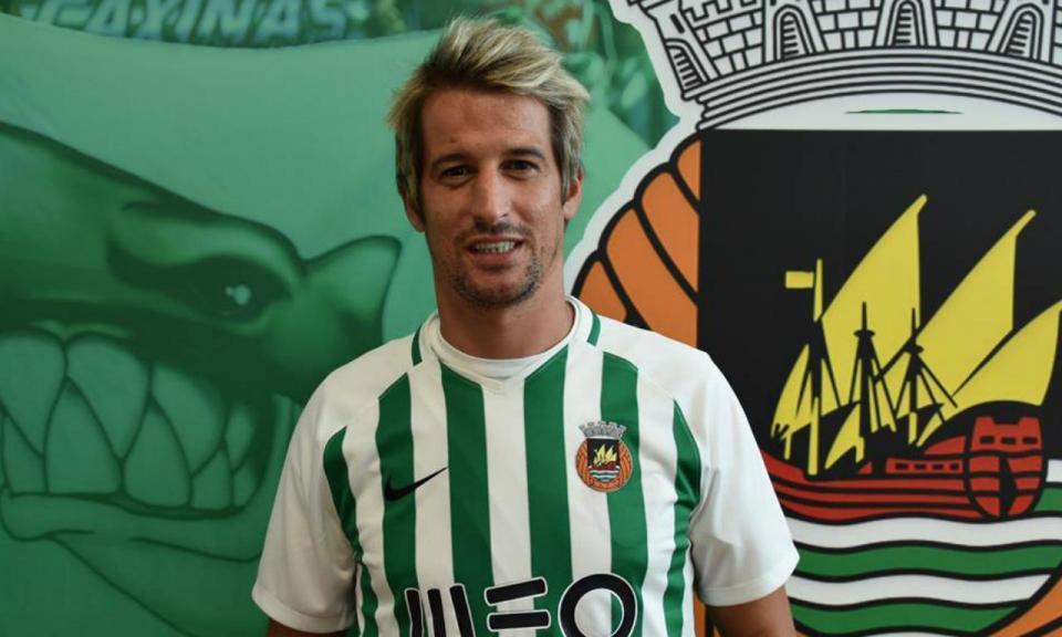 Rio Ave: Fábio Coentrão foi a novidade no treino