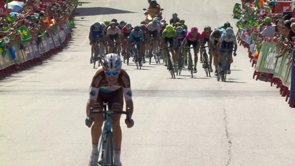 Vuelta: Oscar Rodríguez vence 13ª etapa