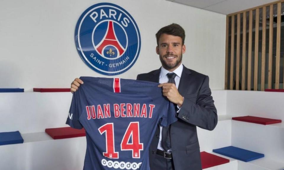 OFICIAL: Bernat é reforço do Paris Saint-Germain