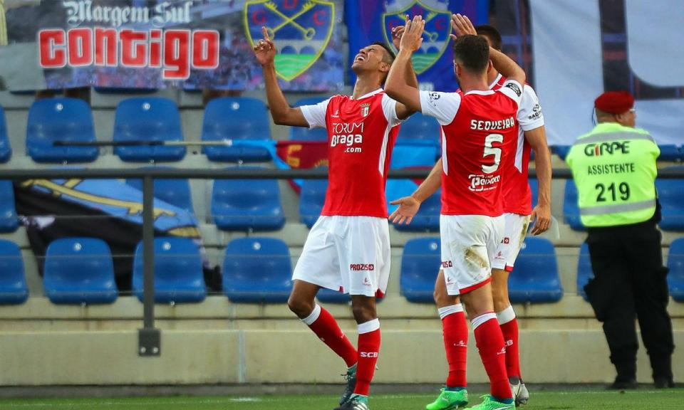 Desp. Chaves-Sp. Braga, 0-1 (resultado final)