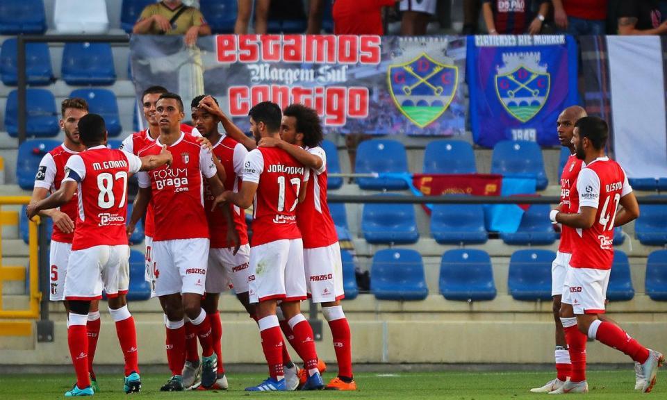 Desp. Chaves-Sp. Braga, 0-1 (crónica)