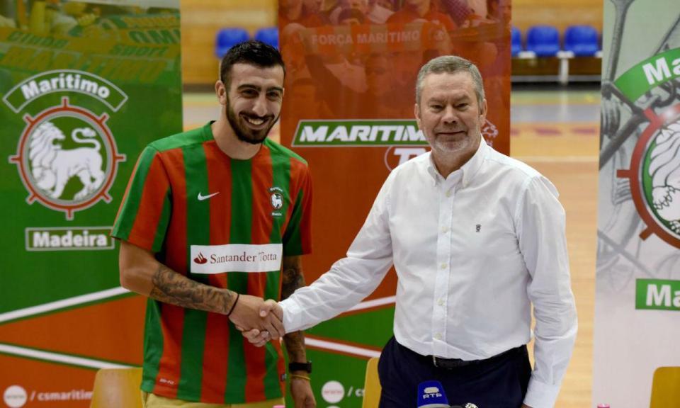 Marítimo: Nikolaos Ioannidis quer «relançar carreira» em Portugal