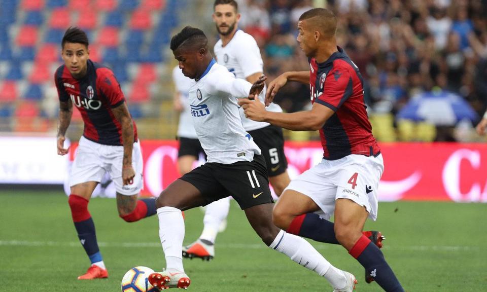João Mário não sai do banco, Inter vence em Bolonha