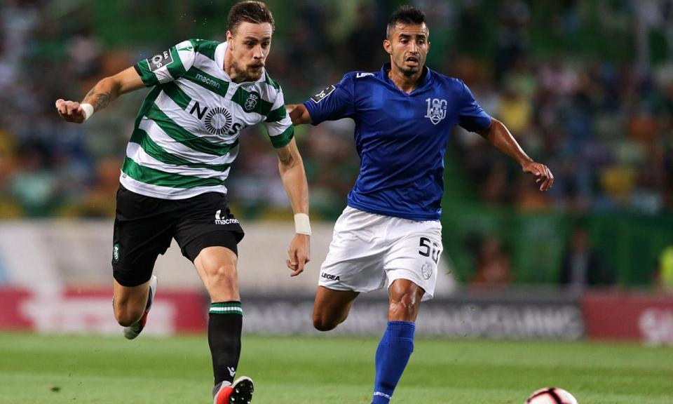 VÍDEO: o golo anulado ao Feirense frente ao Sporting