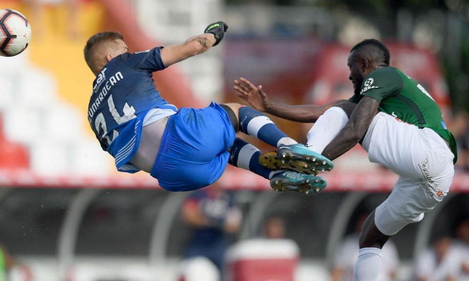Desp. Aves- Marítimo, 0-1 (destaques)