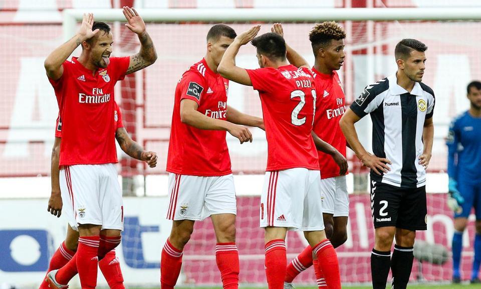 Seferovic volta a marcar pelo Benfica oito meses depois