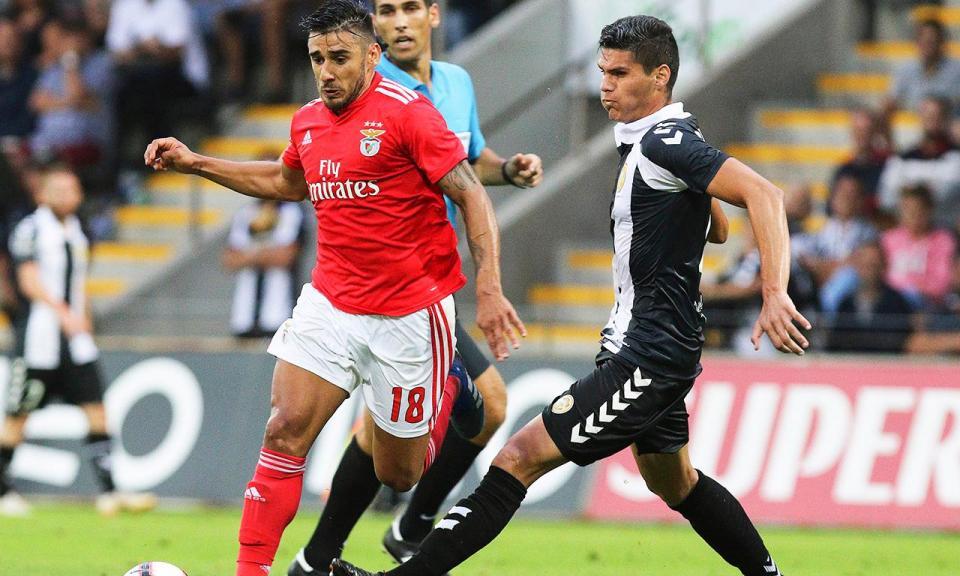 Benfica: Salvio dispensado da seleção argentina