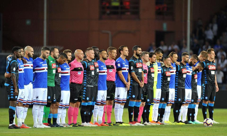 Génova: Sampdoria anuncia particular para ajudar familiares das vítimas