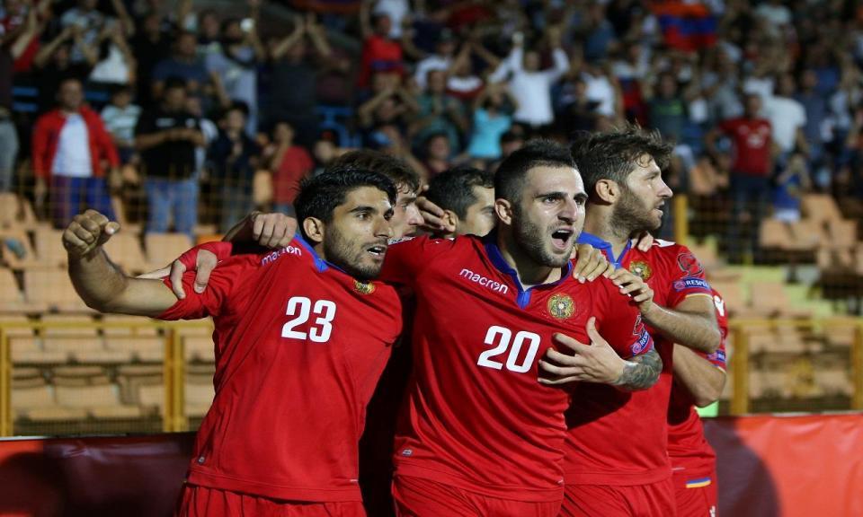 Liga das Nações: Arménia de Ghazaryan estreia-se com vitória