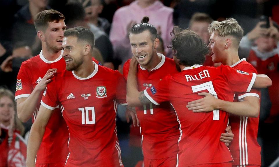 Liga das Nações: Gales goleia e Ucrânia vence na compensação