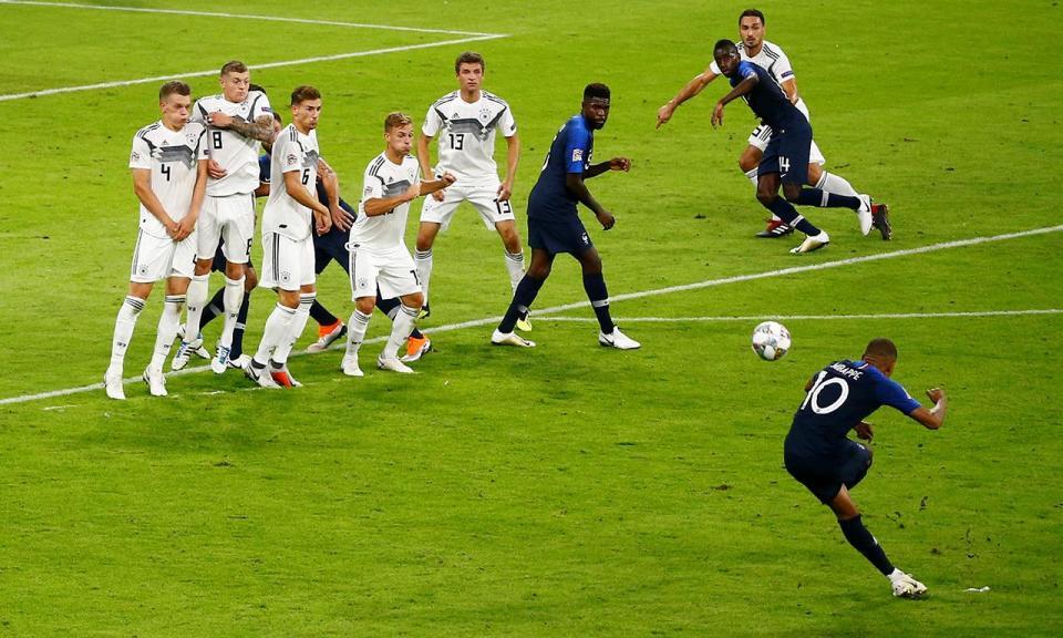 Liga das Nações: campeã mundial França empata na Alemanha