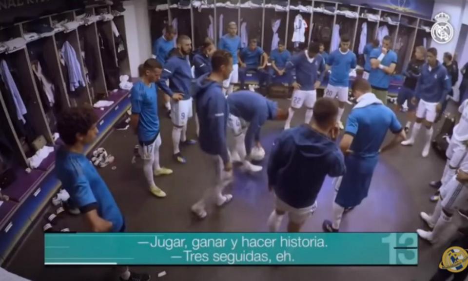 VÍDEO: o que disse Ronaldo no balneário antes da final da Champions