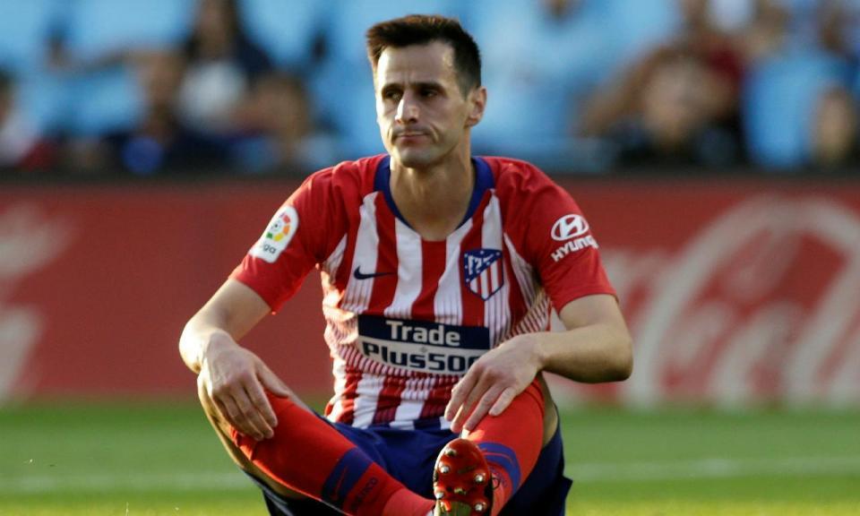 At. Madrid: Kalinic com lesão no tornozelo direito