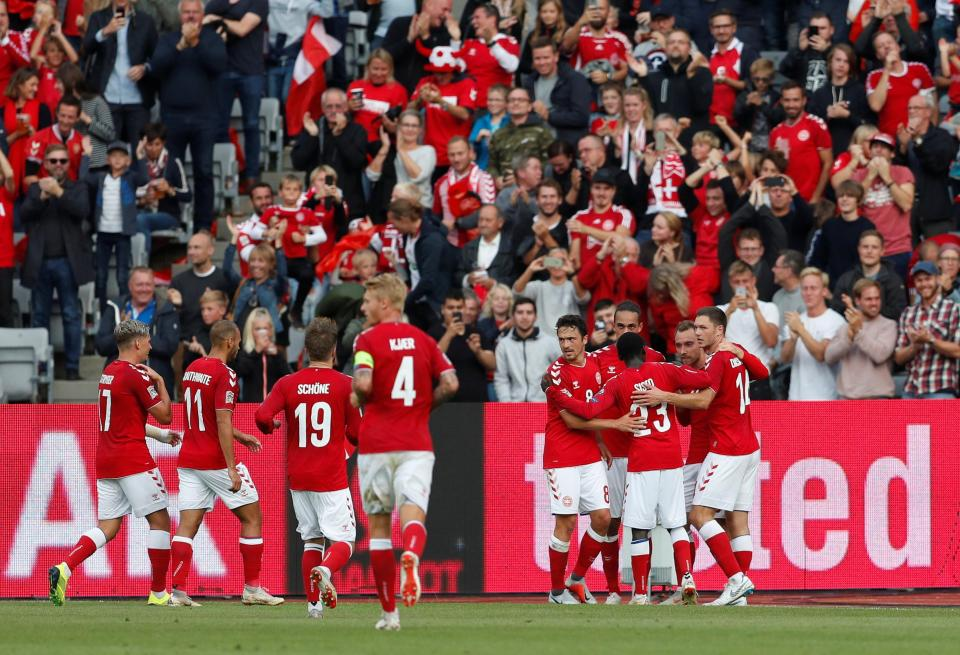 Liga Nações: pé quente de Eriksen resolve Dinamarca-Gales